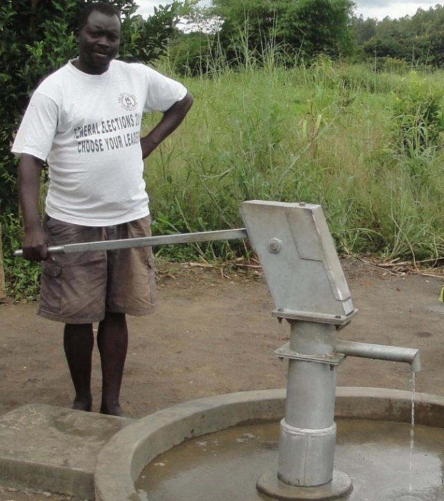 cropped borehole
